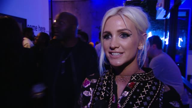 INTERVIEW Ashlee Simpson on the Ciroc Studios opening on having recorded her albums here in the past at CIROC Studios Launch Event Hosted by DJ...