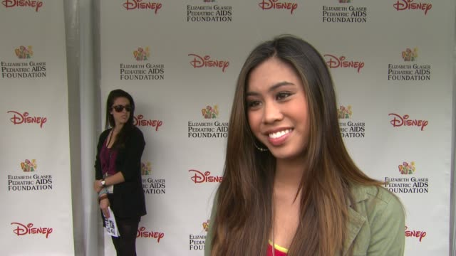 Ashley Argota on how she feels to be at the 22nd Annual Time for Heroes Celebrity Picnic if this is her first time attending why she wanted to come...