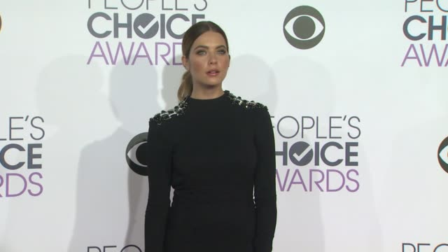 Ashley Benson at the People's Choice Awards 2016 at Nokia Plaza LA LIVE on January 6 2016 in Los Angeles California