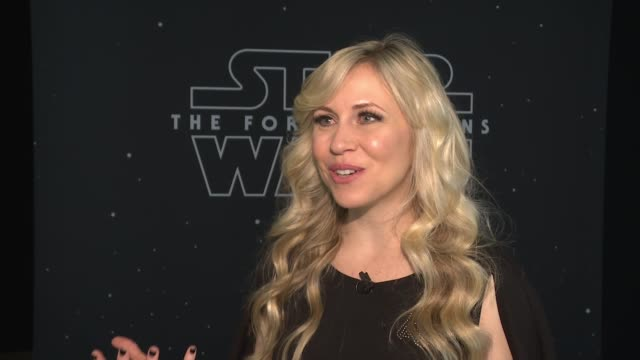 interview ashley eckstein founder of her universe talks about today being a dream come true and celebrating star wars together star wars is so rich... - star jump stock videos & royalty-free footage