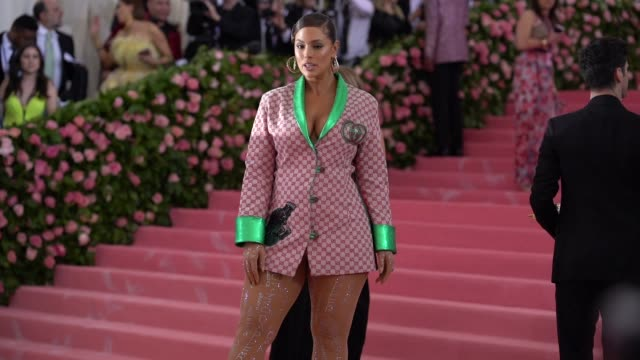Ashley Graham at The 2019 Met Gala Celebrating Camp Notes on Fashion Arrivals at Metropolitan Museum of Art on May 06 2019 in New York City