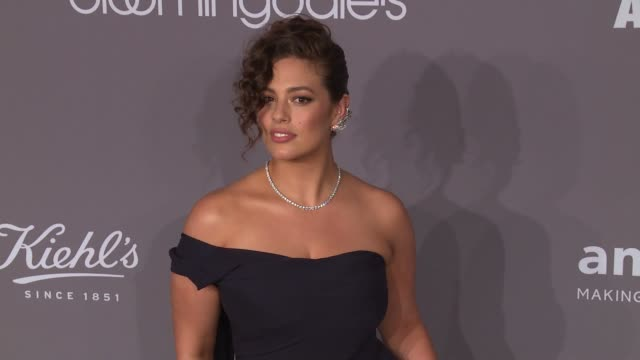 ashley graham at the 20th annual amfar gala new york at cipriani wall street on february 07 2018 in new york city - amfar stock videos & royalty-free footage