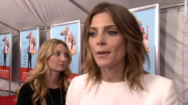 INTERVIEW Ashley Greene on her role in the film how her character is into cosplay on the issues tackled in this film at 'Wish I Was Here' New York...