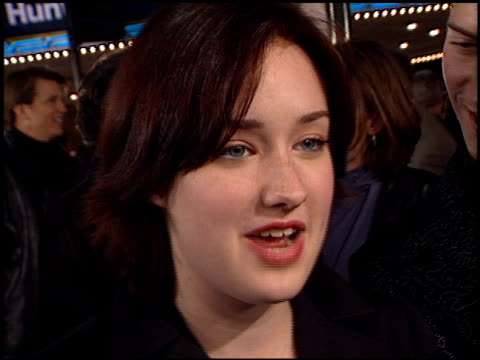 ashley johnson at the 'what women want' premiere at the mann village theatre in westwood, california on december 13, 2000. - regency village theater stock videos & royalty-free footage
