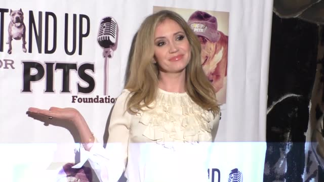 ashley jones at stand up for pits comedy benefit at the improv comedy club in west hollywood in celebrity sightings in los angeles, - スケッチコメディー点の映像素材/bロール