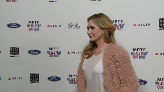 ashley jones at the 7th annual reel stories real lives event benefiting mptf at directors guild of america on november 08 2018 in los angeles... - director's guild of america stock videos & royalty-free footage