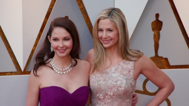 Ashley Judd and Mira Sorvino at Dolby Theatre on March 04 2018 in Hollywood California