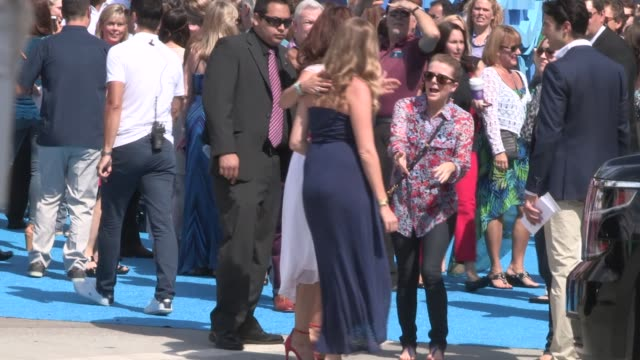 Ashley Judd arrives at the Dolphin Tale 2 Premiere in Westwood in Celebrity Sightings in Los Angeles