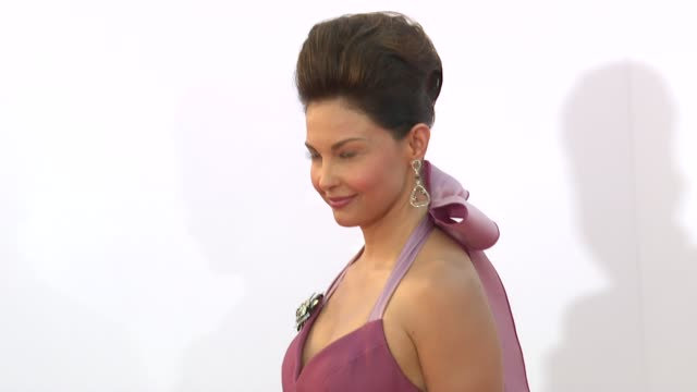 Ashley Judd at 64th Primetime Emmy Awards Arrivals on 9/23/12 in Los Angeles CA
