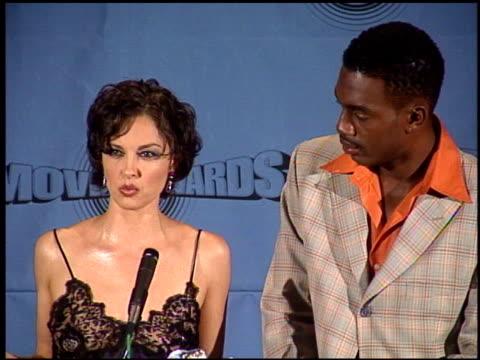 Ashley Judd at the 1997 MTV Movie Awards press room at Barker Hanger in Santa Monica California on June 7 1997