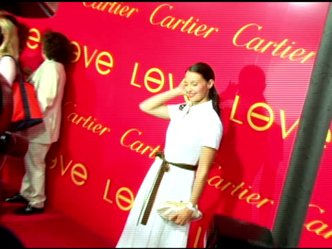Ashley Judd at the Cartier and Interview Magazine Celebration of Love at the Cartier Mansion in New York New York on June 8 2006