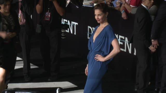 Ashley Judd at the Divergent Los Angeles Premiere at Regency Bruin Theatre on March 18 2014 in Los Angeles California