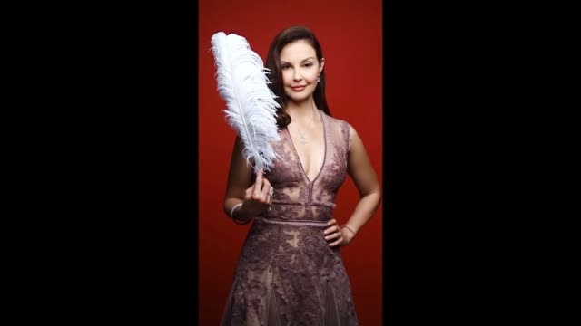 Ashley Judd of EPIX 'Berlin Station' poses for a gif during the 2017 Summer Television Critics Association Press Tour at The Beverly Hilton Hotel on...