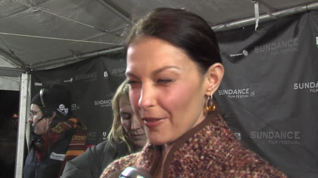 Ashley Judd on the film premiering at Sundance and on Joey Lauren Adams as a writer at the 2006 Sundance Film Festival Come Early Morning Premiere at...