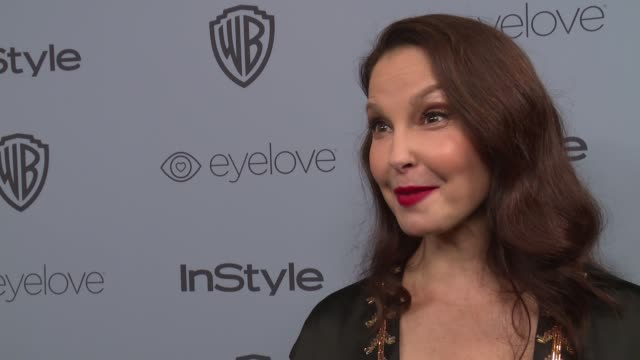 interview ashley judd on the most special part of the evening and talks about #timesup at the warner bros pictures and instyle host 19th annual... - time's up social movement stock videos and b-roll footage