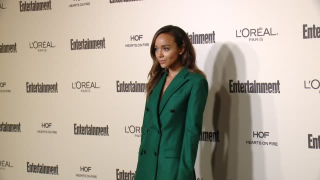ashley madekwe at entertainment weekly's preemmy celebration at fig olive melrose place on september 18 2015 in west hollywood california - entertainment weekly stock videos and b-roll footage