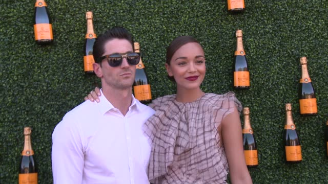 ashley madekwe at fourth annual veuve clicquot polo classic los angeles benefiting will rogers state historic park on 10/5/2013 in pacific palisades,... - fourth occurrence stock videos & royalty-free footage
