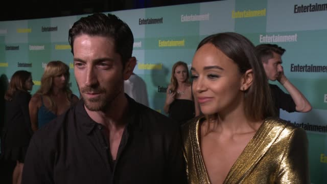 INTERVIEW Ashley Madekwe Iddo Goldberg on the first thing they would do during a zombie apocalypse who will win in Batman vs Superman the last show...