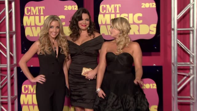 Ashley Monroe Angaleena Presley and Miranda Lambert at 2012 CMT Music Awards Ashley Monroe Angaleena Presley and Miranda Lamb at Bridgestone Arena on...