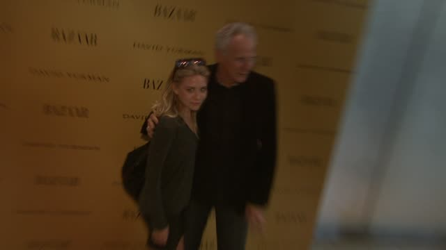 ashley olsen and david yurman at the harper's bazaar celebrates peter lindbergh and holly fisher's new film everywhere at once at borough of... - community college stock videos & royalty-free footage