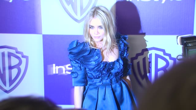 vídeos y material grabado en eventos de stock de ashley olsen at the warner bros and instyle golden globe afterparty at beverly hills ca - warner bros