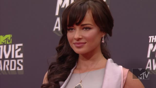 Ashley Rickards at 2013 MTV Movie Awards Arrivals 4/14/2013 in Culver City CA