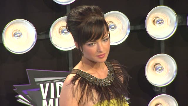 Ashley Rickards at the 2011 MTV Video Music Awards at Los Angeles CA