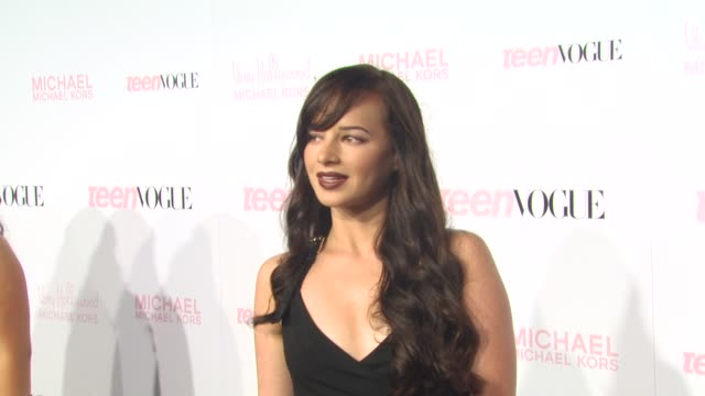 Ashley Rickards at the 8th Annual Teen Vogue Young Hollywood Party at Los Angeles CA