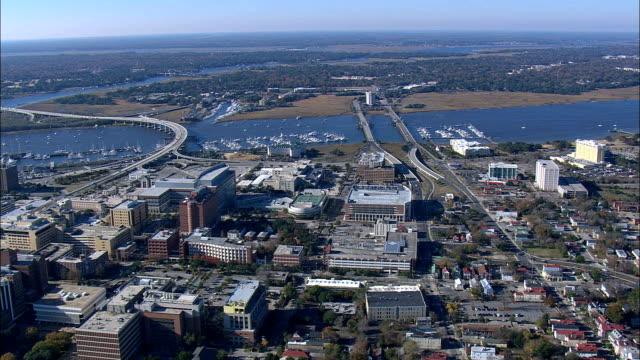 Ashley River Near Middleton Place  - Aerial View - South Carolina,  Charleston County,  United States