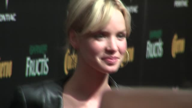 ashley scott at the 2006 maxim hot 100 party at buddha bar in new york, new york on may 18, 2006. - ブッダバー点の映像素材/bロール