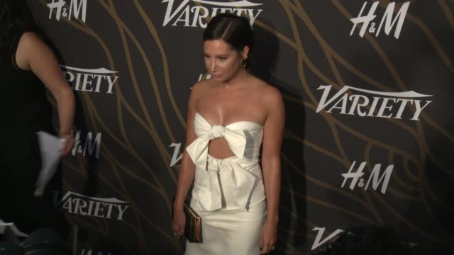 ashley tisdale at variety power of young hollywood in los angeles ca - ashley tisdale stock videos and b-roll footage