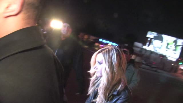 ashley tisdale enters bar marmont in west hollywood 01/17/12 - ashley tisdale stock videos and b-roll footage