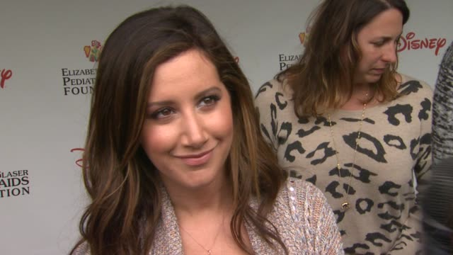 ashley tisdale on how she feels to be at the 22nd annual time for heroes celebrity picnic why she wanted to come and support why she comes to this... - ashley tisdale stock videos and b-roll footage
