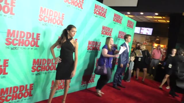 Ashlund Jade at the Premiere Of CBS Films' Middle School The Worst Years Of My Life at TCL Chinese 6 Theatres in Hollywood at CBS Films' Middle...