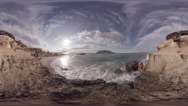 Ashram Beach Ibiza Sunset
