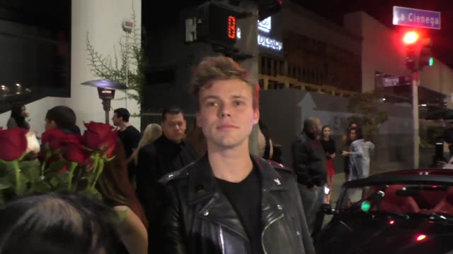 INTERVIEW Ashton Irwin talks about Post Malone performance outside Poppy in West Hollywood in Celebrity Sightings in Los Angeles