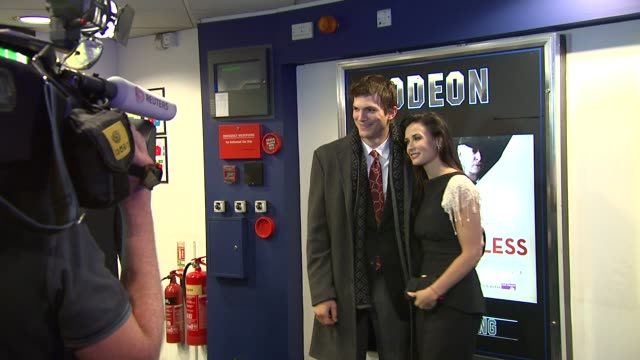 Ashton Kutcher and Demi Moore at the Flawless UK Charity Premiere at London