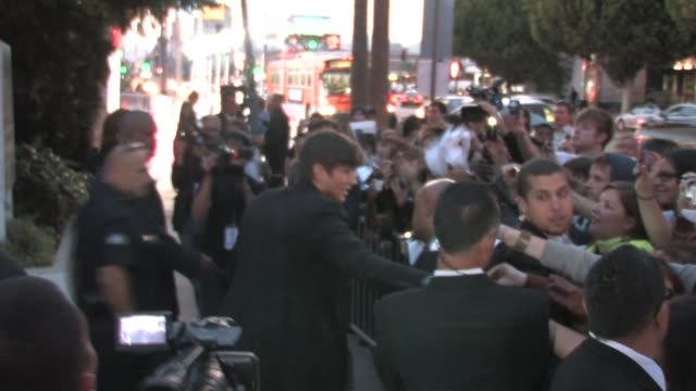 ashton kutcher at the premiere of 'killers' at the arclight hollywood cinema at the celebrity sightings in los angeles at los angeles ca - ashton kutcher stock videos and b-roll footage