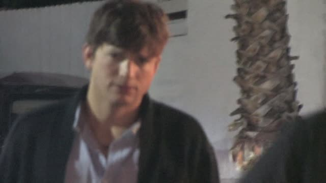 ashton kutcher at voyeur in west hollywood 07/08/10 at the celebrity sightings in los angeles at los angeles ca - ashton kutcher stock videos and b-roll footage