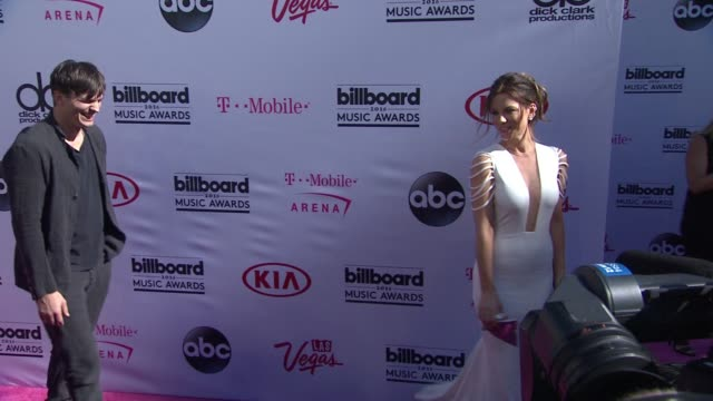 ashton kutcher, kate beckinsale at 2016 billboard music awards - arrivals at t-mobile arena on may 22, 2016 in las vegas, nevada. - ashton kutcher stock videos & royalty-free footage