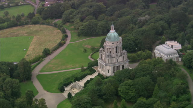 ashton memorial - lancashire stock videos & royalty-free footage