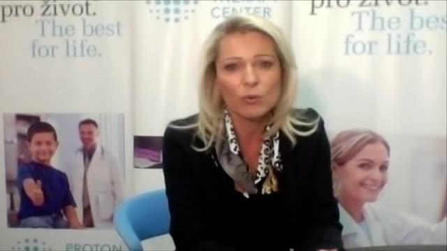 vídeos y material grabado en eventos de stock de ashya king in hospital in madrid as parents remain in custody; czech republic: prague: iva tatounova interview via internet sot - iva