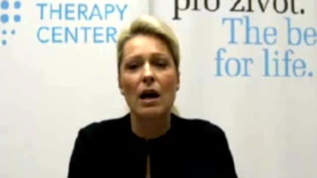 vídeos y material grabado en eventos de stock de ashya king's parents say he is free of cancer after treatment abroad; int iva patounova interview via internet sot - iva
