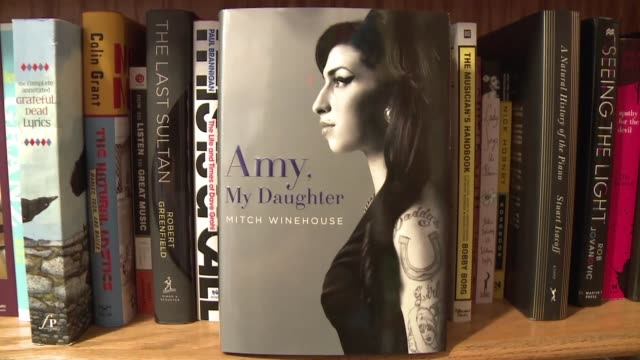 asi titulo mitch el padre de amy winehouse su libro sobre la cantante britanica voiced amy winehouse segun su padre on june 26 2012 in washington - padre stock videos & royalty-free footage