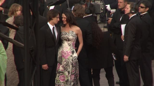 Asia Argento and Michele Civetta at the Cannes Film Festival 2009 Opening Night/Up Steps at Cannes