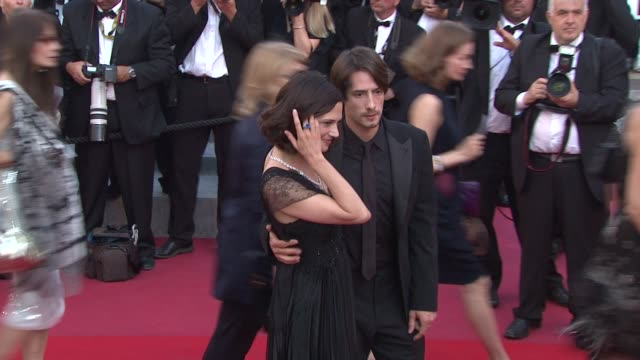 Asia Argento and Michele Civetta at the Closing Night/The Tree Red Carpet Cannes Film Festival 2010 at Cannes