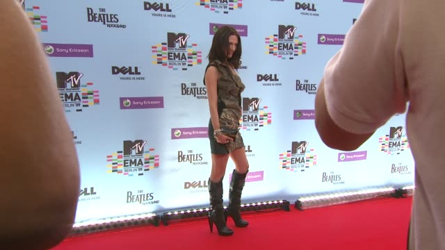 Asia Argento at the MTV European Music Awards at Berlin