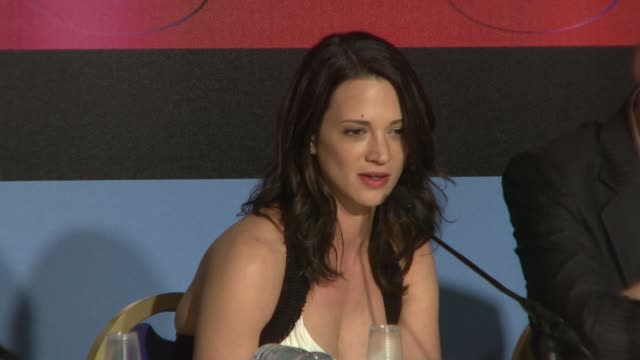 Asia Argento on being very curious about the judging process at the Cannes Film Festival 2009 Jury Press Conference at Cannes