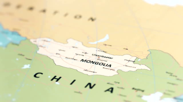 asia mongolia on world map - ancient stock videos & royalty-free footage