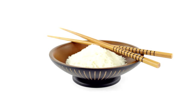 Asian bowl with rice